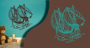 Stickers bateau 4 (PARADISE Déco)