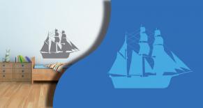 Stickers bateau 6 (PARADISE Déco)