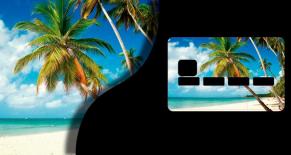 Stickers CB iles 3 (PARADISE Déco)