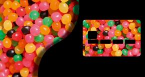 Stickers CB bonbons (PARADISE Déco)