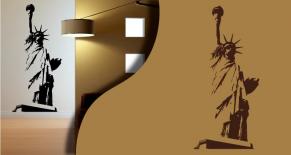 Stickers statue de la liberté 2 (PARADISE Déco)