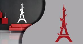Stickers tour eiffel 2 (PARADISE Déco)