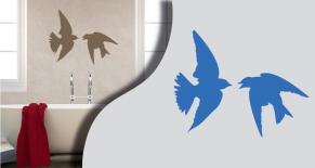 Stickers hirondelles (PARADISE Déco)