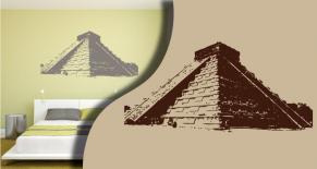Stickers pyramide inca (PARADISE Déco)