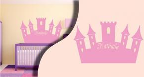 Stickers château princesse (PARADISE Déco)
