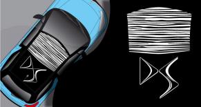 Stickers toit ds3 rayures DS (PARADISE Déco)