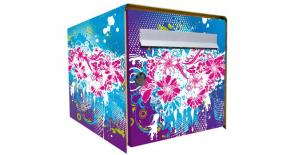 Stickers boite aux lettres flower (PARADISE Déco)