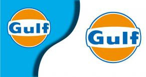 Stickers gulf 2 (PARADISE Déco)