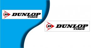 Stickers dunlop 5 (PARADISE Déco)