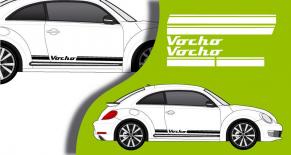 Stickers VW bandes laterales vocho (PARADISE Déco)
