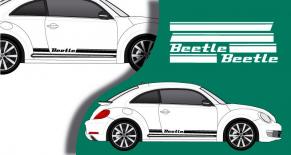 Stickers VW bandes laterales beetle (PARADISE Déco)