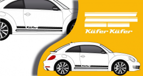 Stickers VW bandes laterales kafer (PARADISE Déco)