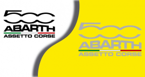 Stickers abarth asseto corse (PARADISE Déco)