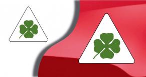 Stickers trèfle Alfa romeo (PARADISE Déco)