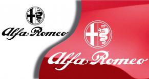 Stickers logo Alfa Romeo 4 (PARADISE Déco)