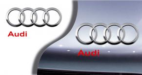 Stickers logo Audi 3 (PARADISE Déco)