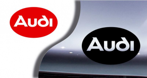 Stickers logo Audi 4 (PARADISE Déco)