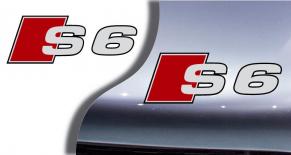 Stickers logo Audi S6 (PARADISE Déco)