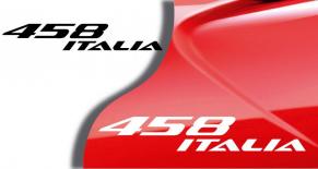 Stickers Ferrari 458 italia (PARADISE Déco)