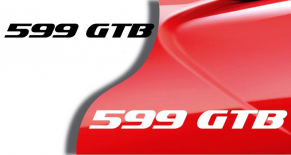Stickers Ferrari 599 gtb (PARADISE Déco)