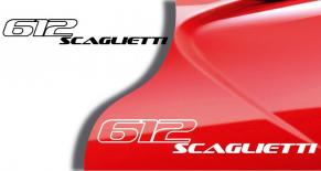 Stickers Ferrari 612 scaglietti (PARADISE Déco)