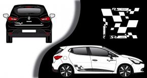 Stickers Renault clio RS4 (PARADISE Déco)