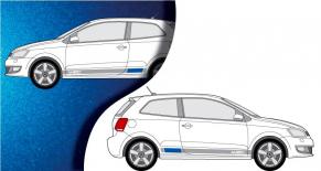 Stickers VW Polo wrc latéral (PARADISE Déco)