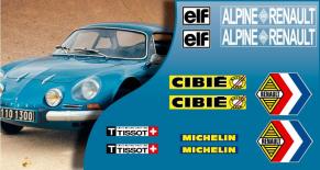 Stickers Renault alpine A110 (PARADISE Déco)
