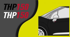 Stickers citroen DS3 THP150 (PARADISE Déco)