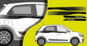 Stickers Renault gt twingo (PARADISE Déco)