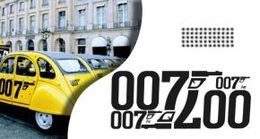 Stickers 2cv 007 (PARADISE Déco)