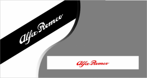 Stickers bande pare soleil Alfa Romeo (PARADISE Déco)