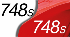 Stickers ducati 748S (PARADISE Déco)
