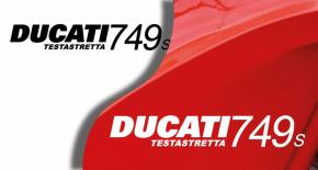 Stickers ducati 749S (PARADISE Déco)