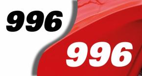 Stickers ducati 996 (PARADISE Déco)
