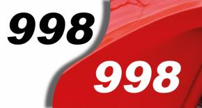 Sticker ducati 998 (PARADISE Déco)