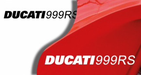 Stickers ducati 999 RS (PARADISE Déco)