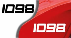 Stickers ducati 1098 (PARADISE Déco)