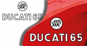 Stickers ducati 65 (PARADISE Déco)