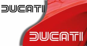 Stickers ducati ancien modèle 3 (PARADISE Déco)