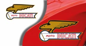 Stickers ducati ancien modèle 6 (PARADISE Déco)