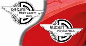 Stickers ducati meccanica 3 (PARADISE Déco)