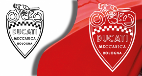 Stickers ducati meccanica 4 (PARADISE Déco)