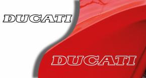 Stickers logo ducati (PARADISE Déco)
