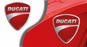 Stickers logo ducati 6 (PARADISE Déco)