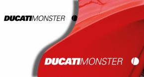 Stickers ducati monster 2 (PARADISE Déco)