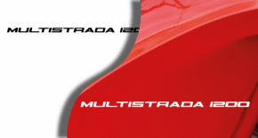Stickers ducati multistrada 1200 (PARADISE Déco)