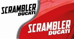 Stickers ducati scrambler (PARADISE Déco)