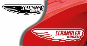 Stickers ducati scrambler 3 (PARADISE Déco)
