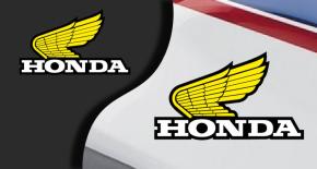 Stickers aile honda 2 (PARADISE Déco)